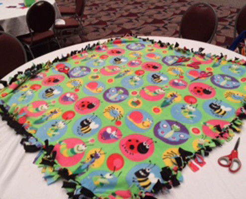 Team Building - Houston, TX - CSR - Build a Blanket