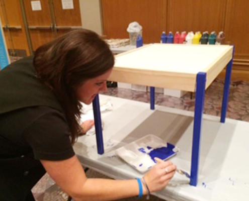 Team Building - Houston, TX - CSR - Furniture Fix Up