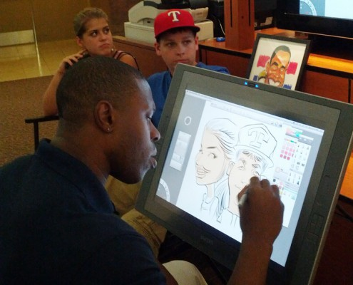 Entertainment - Houston, TX - Digital Caricature Artist (2)
