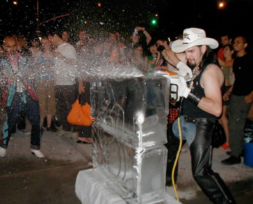 Entertainment - Houston, TX - Ice Sculpting 2