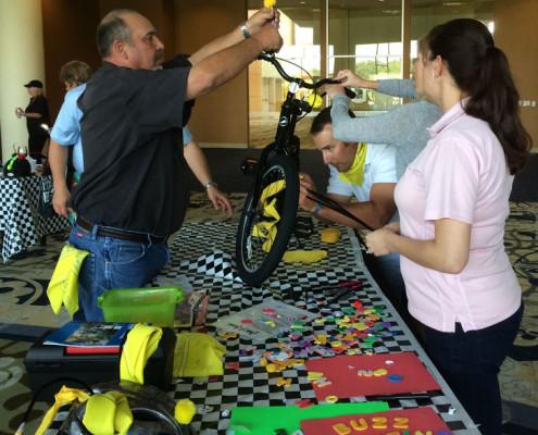 Team Building - Houston, TX - Bike Build 3