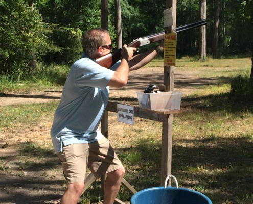 Team Building - Houston, TX - Clay Shooting