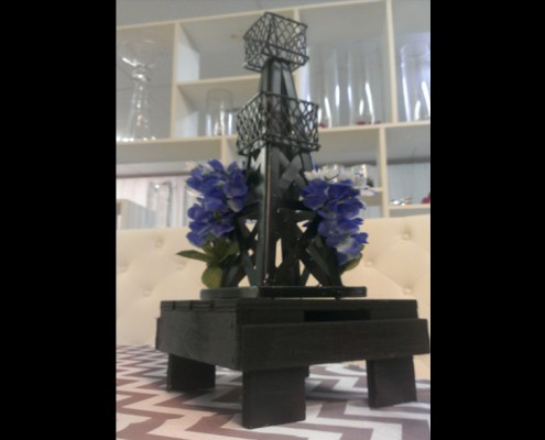 Themed Events - Houston, TX - oil derrick bluebonnets (small)