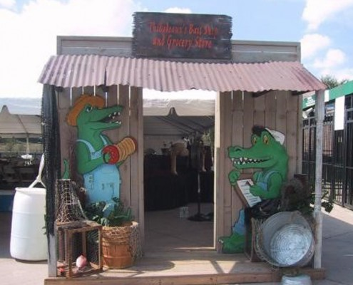 Themed Events - Houston, TX - Swamp Shack