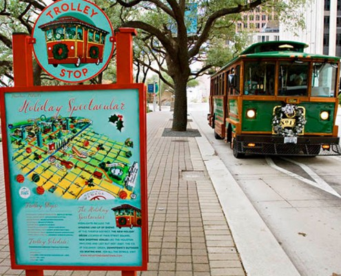 Transportation - Houston, TX - Trolley